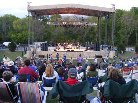 Hash Brown and the Browntones at Oak Point Amphitheater